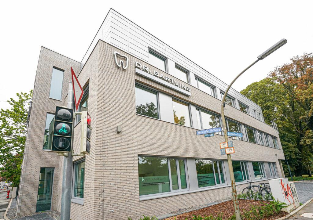 Zahnarztpraxis Dr Bartling in Dortmund - Die Praxis von Aussen